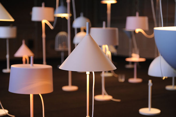 Lamp by Nendo for Wastberg