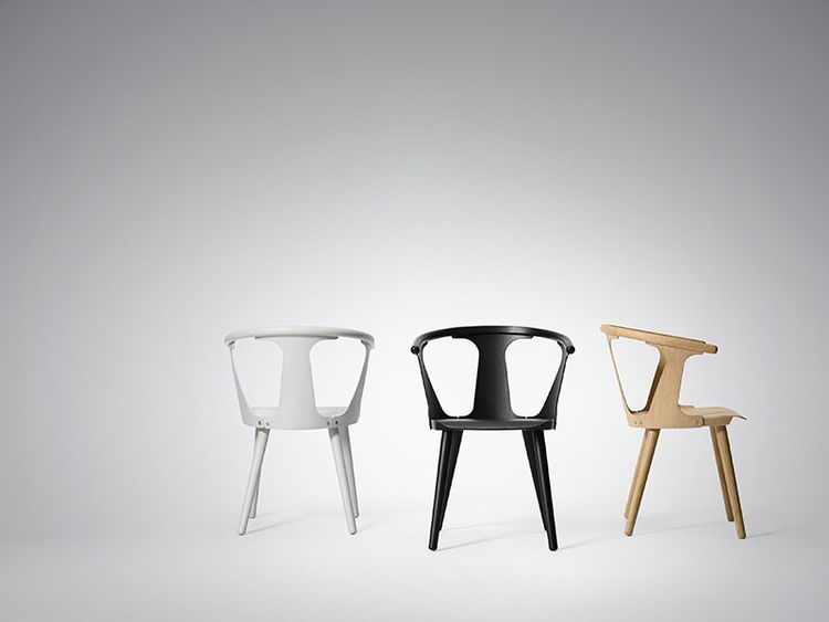Wooden chairs by Sami Kallio and &tradition
