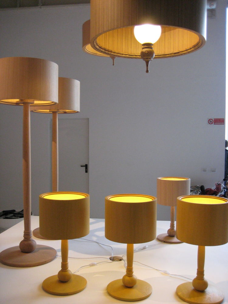 Moooi's tree lamps are new for 2009, and will be in stock from May.