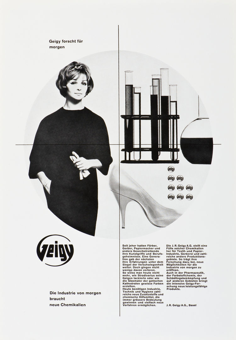 This poster by Nelly Rudin is from the early 60s.