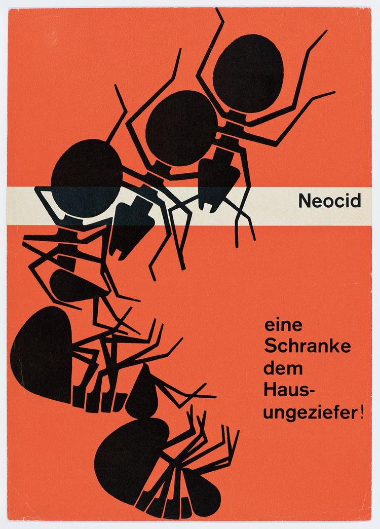 Karl Gerstner 1953 poster