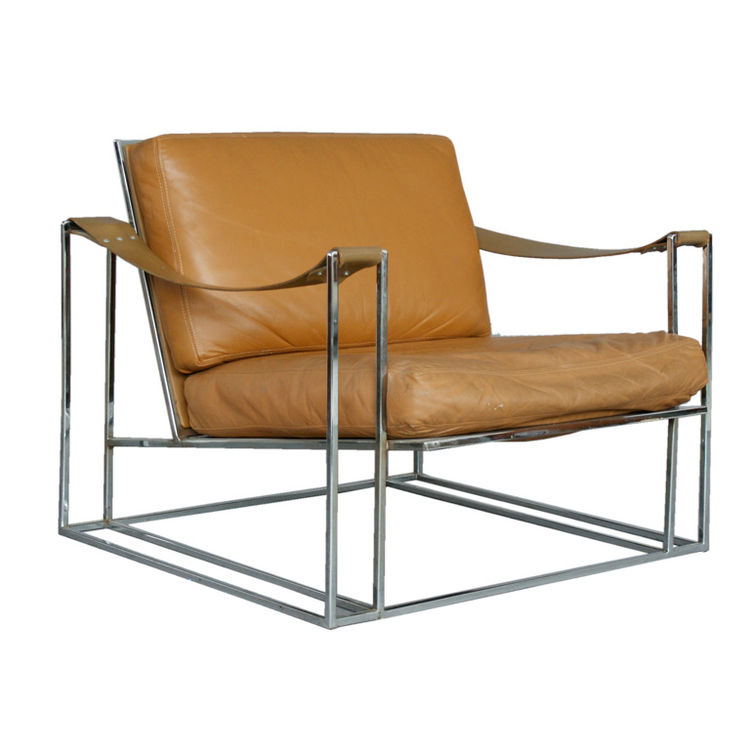 <strong>Milo Baughman Lounge Chair</strong><br /> Now seems to be the time to snap up something by Milo Baughman, who created many pieces of furniture for Thayer Coggin, established in 1953 and with whom Baughman worked until his death in 2003. After a st