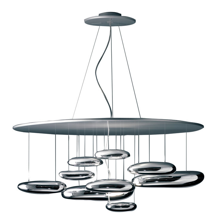 "<strong>The Mercury Suspension Lamp</strong> by Ross Lovegrove for <a href=""http://artemide.com"">Artemide</a>"
