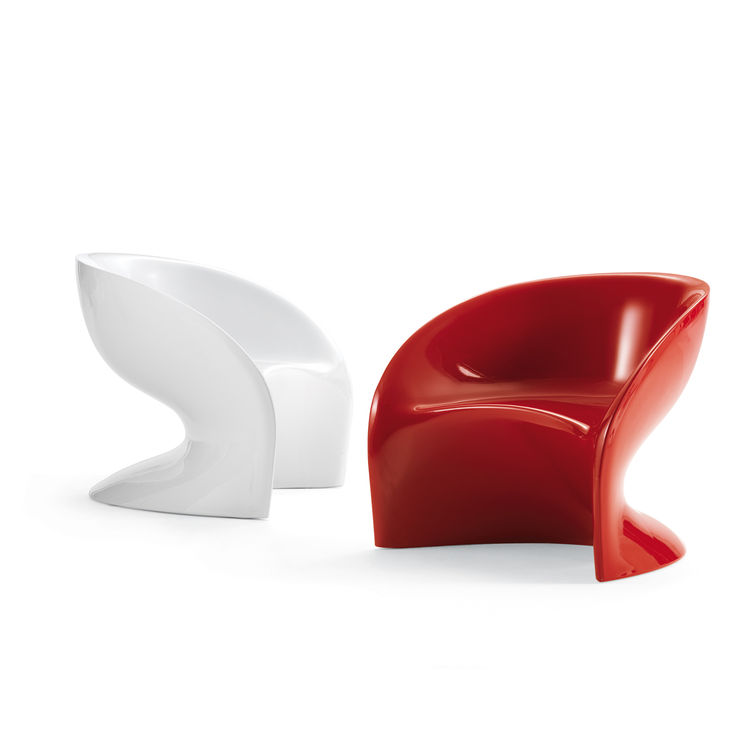 "<strong>The Vague Armchair</strong> by Marc Sadler for <a href=""http://www.flou.it/"">Flou</a>"