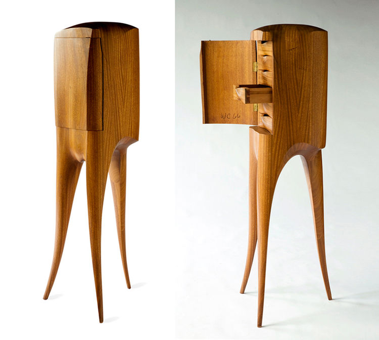Castle's Chest of Drawers by Wendell Castle
