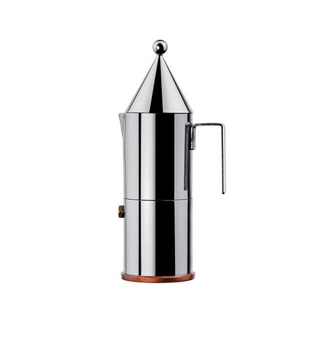 Miniature La Conica Espresso Maker designed by Aldo Rossi for Alessi