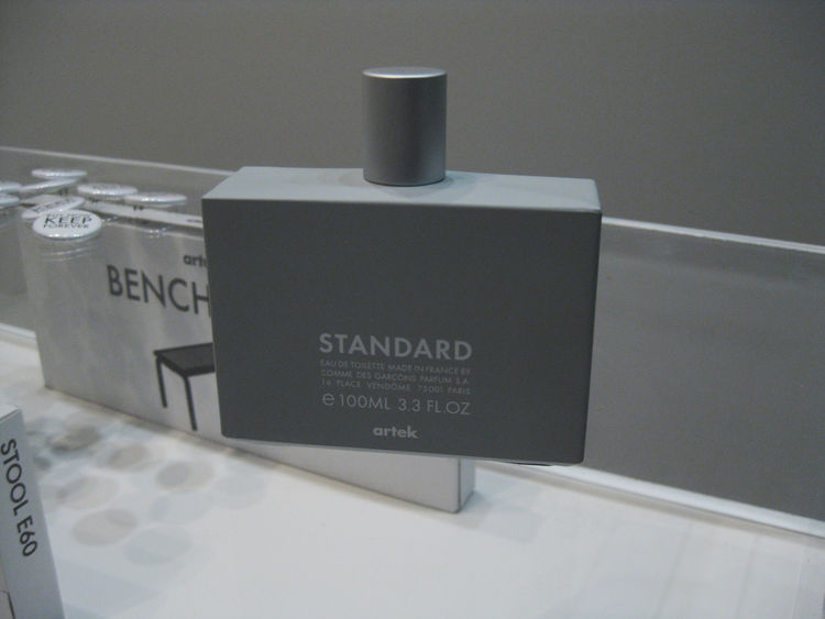 <strong>Standard by Artek</strong><br /> Venerable Finnish manufacturer Artek teamed up with Comme des Garçons to create a new scent that hits all the right wood notes. If your idea of smelling ready to hit the town includes hints of moss and cedar sawdus