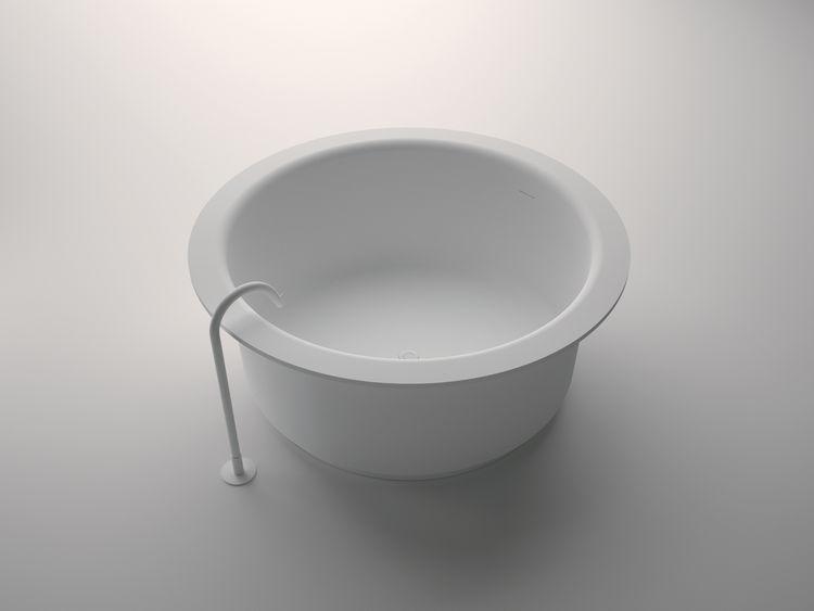 InOut tub by Benedini Associati for agape.