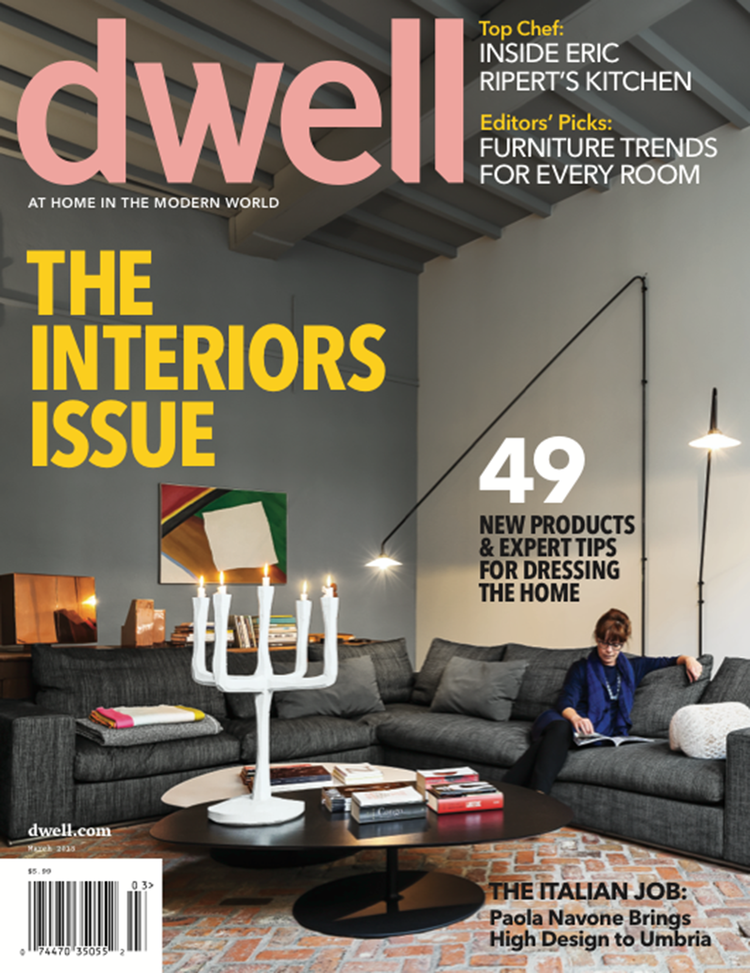 Dwell Magazine March 2013 Interior Design