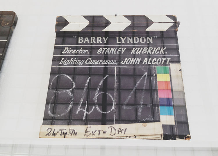 Stanley Kubrick Barry Lyndon film slate