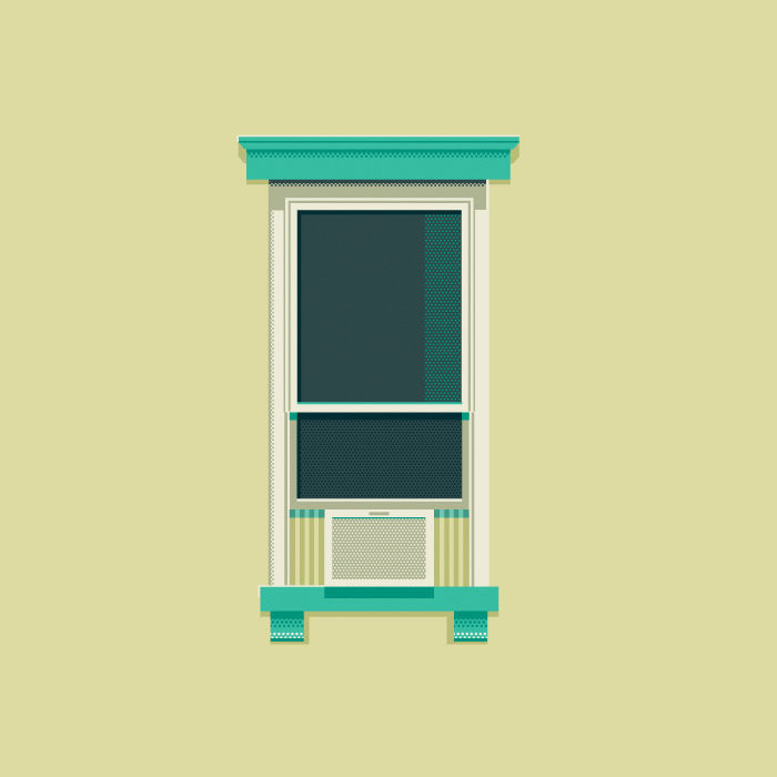 Windows of New York by Jose Guizar