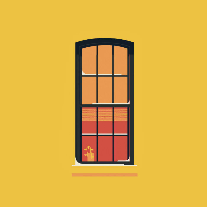 Windows of New York series by Jose Guizar