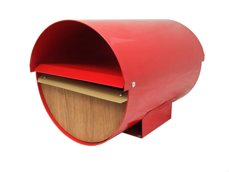 Envelope Mailbox by Goodwin + Goodwin