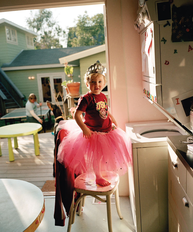 Oliver in a Tutu by Catherine Opie