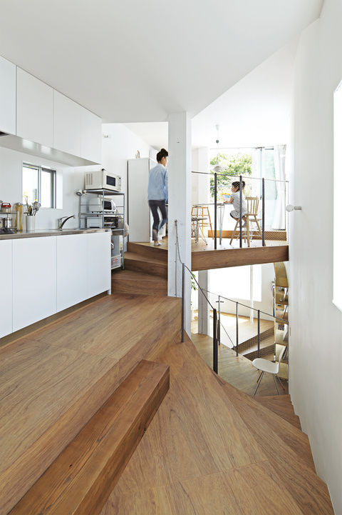 modern kitchen Japan