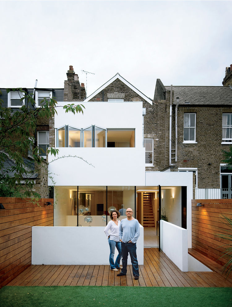 London house exterior