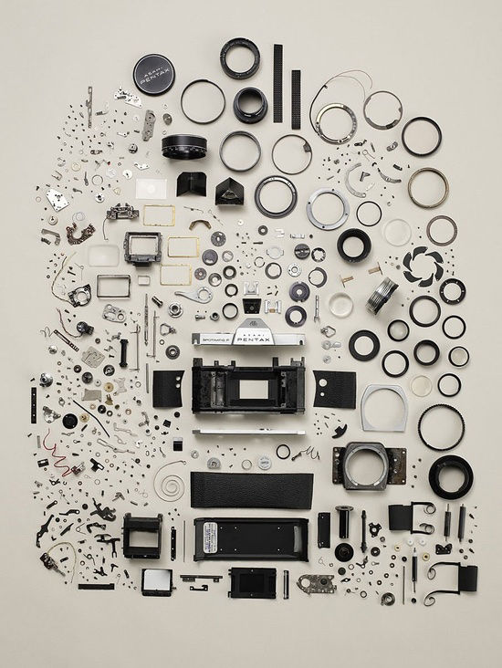 Disassembly Series by Todd McLellan
