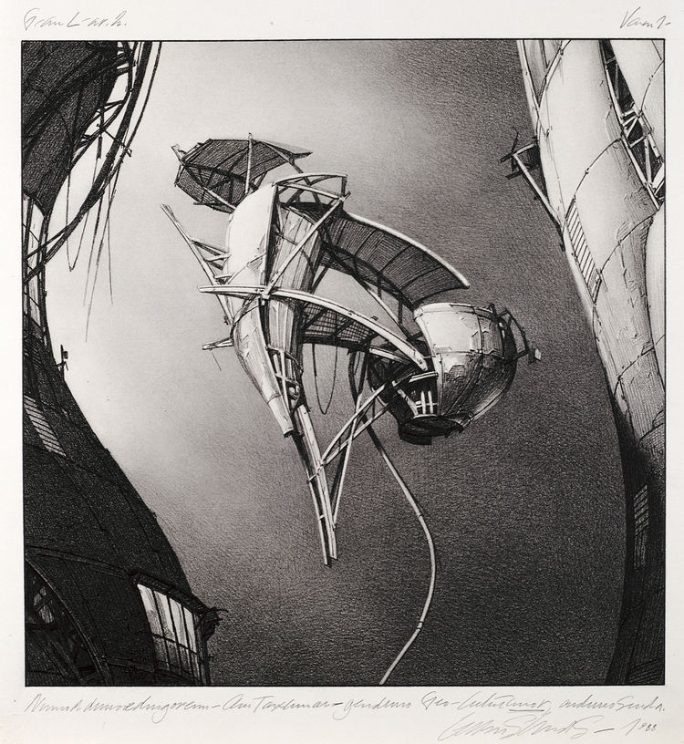 Photon Kite by Lebbeus Woods