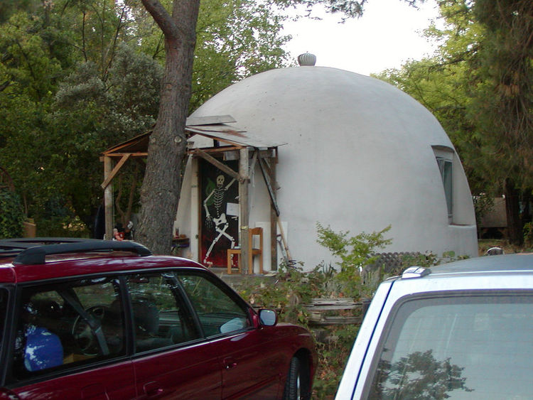 UC Davis Geodesic Home