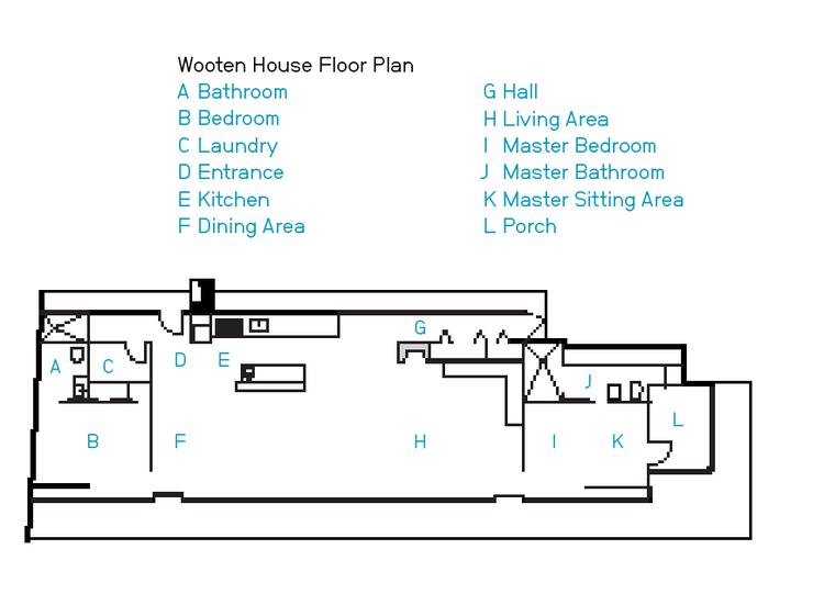 Wooten house floor plan