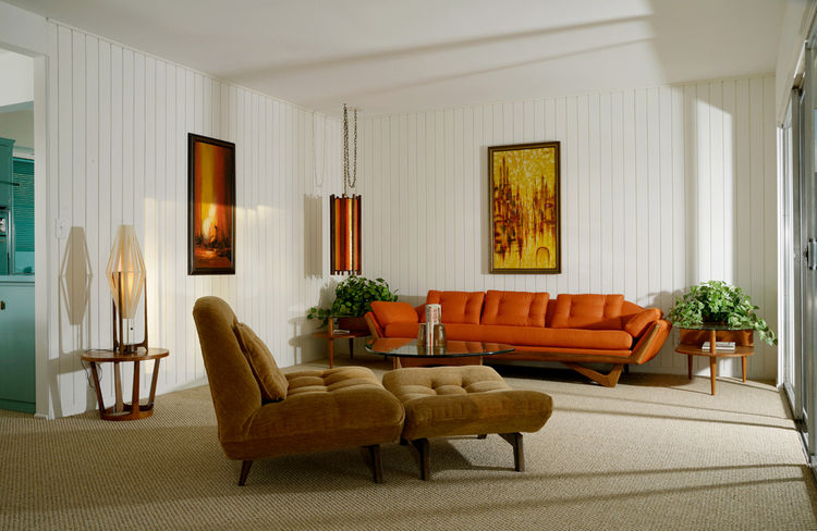 Living Room The Fontenell Palm Springs
