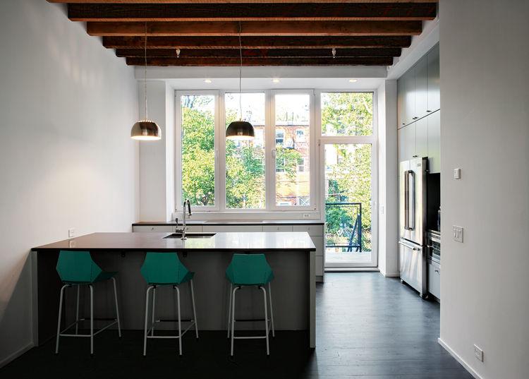 Modern passive house in Brooklyn New York