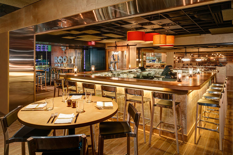 Roost restaurant local design