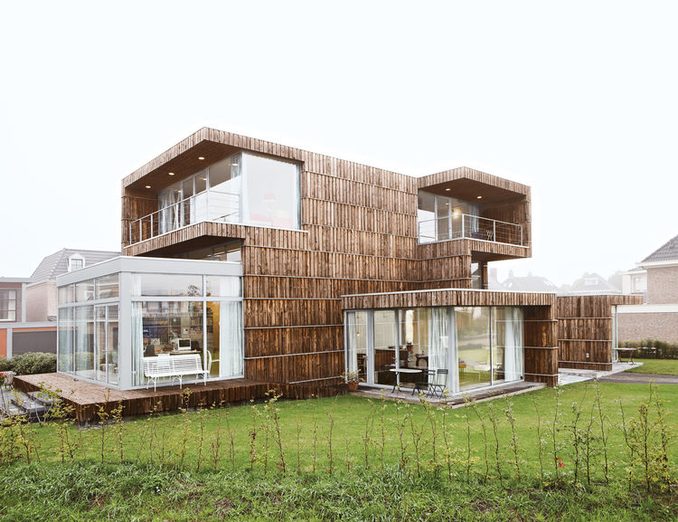 Recycled Home in the Netherlands
