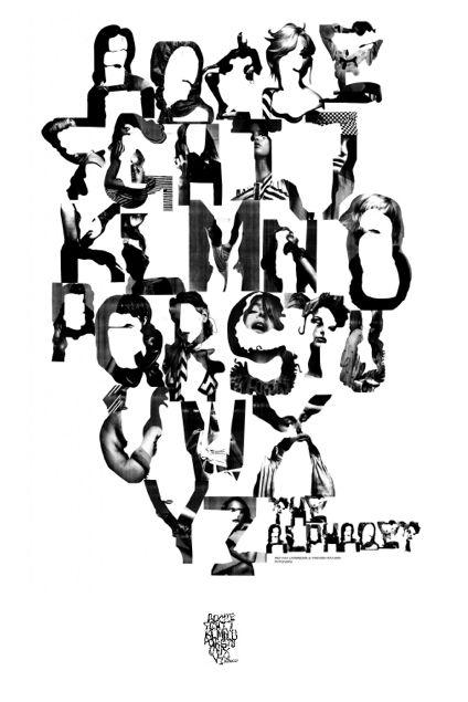 The Alphabet by MM Paris
