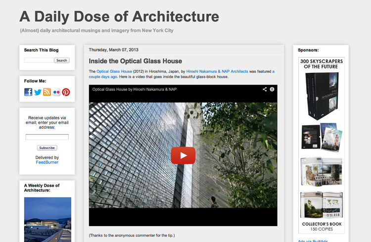 A Daily Dose of Architecture Blog