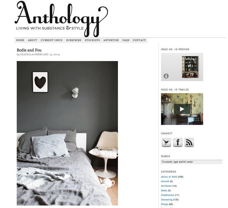 Anthology Magazine Blog