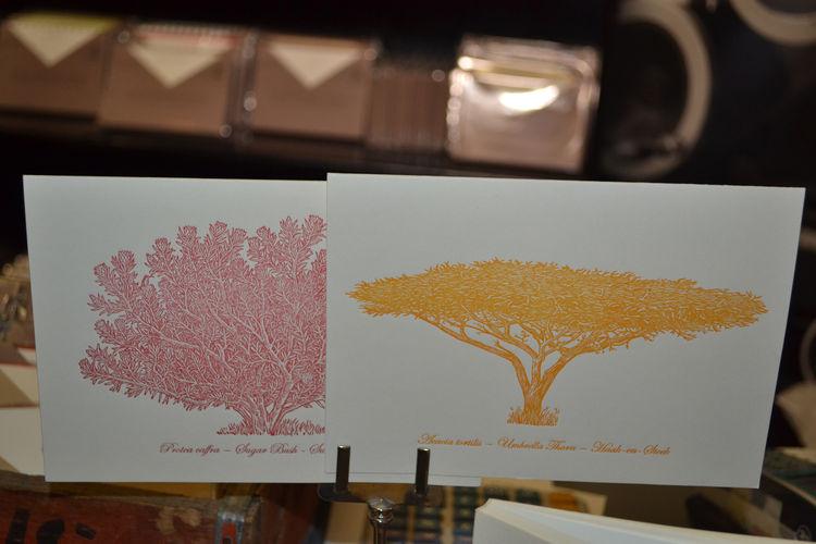 Letterpress cards by The Letterpress Company