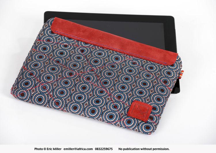 Shweshwe tablet cover by Libi
