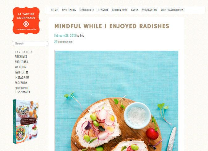La Tartine Gourmande Blog