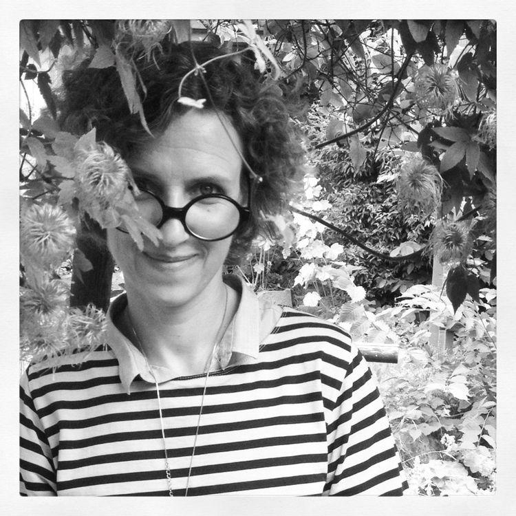 Tina Hellberg portrait by Hedda Hellberg