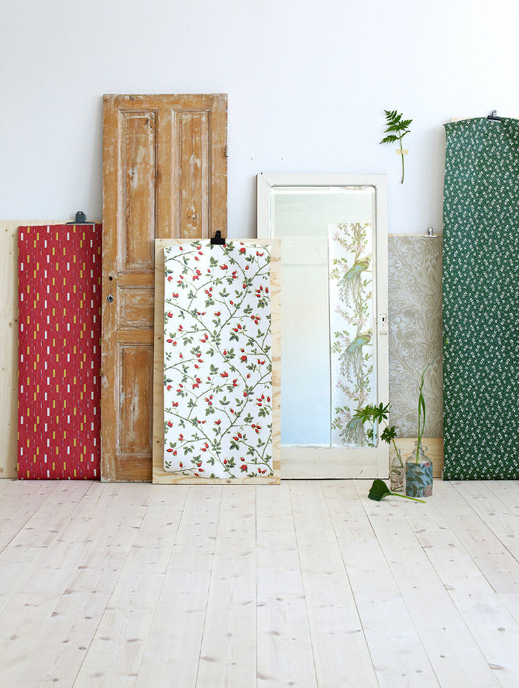 Wallpaper display by Tina Hellberg