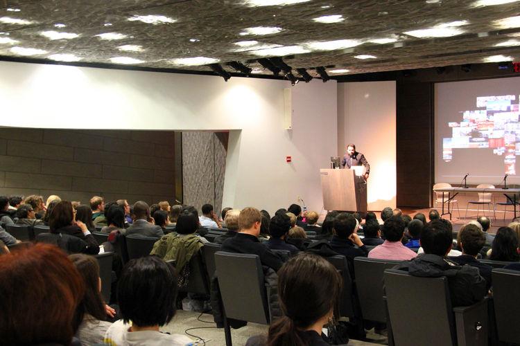 Jorge Gracia of graciastudio at Emerging Voices Lecture Series
