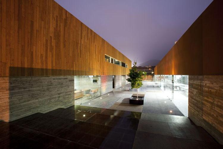 Culinary school plaza by graciastudio