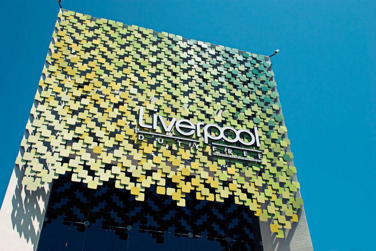 Liverpool department store facade by graciastudio