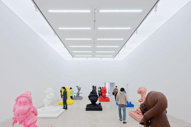 Kukje Art Gallery interior by SO - IL