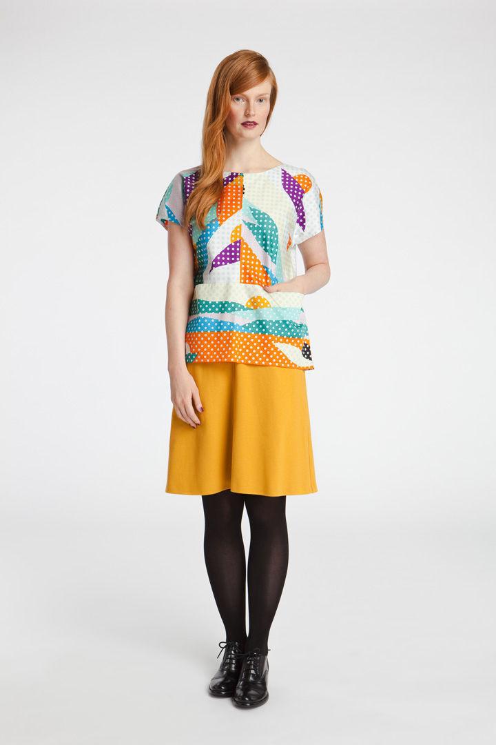 Kaiaka print design by Hvass & Hannibal for Marimekko