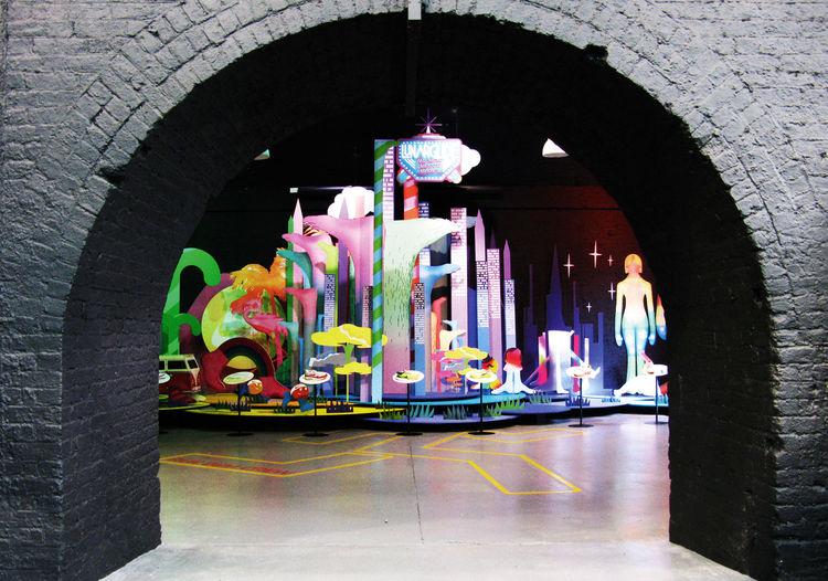Nike installation by Kustaa Saksi