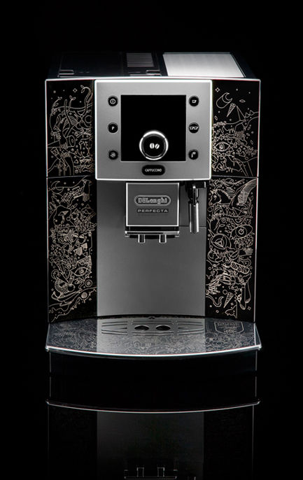 Custom espresso machine by Mario Hugo
