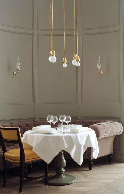 Michael Anastassiades lighting at Grand Hôtel Stockholm