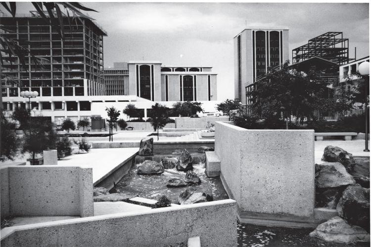 Photograph of Tuscon Convention center.