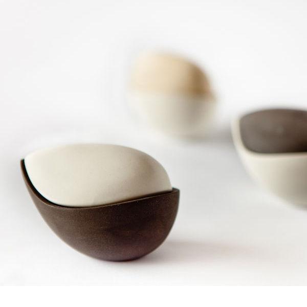 Nouma Salt & Pepper Shakers by Ceramik B