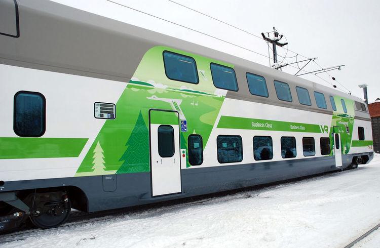 Finnish Railways rebranding and design by Kustaa Saksi