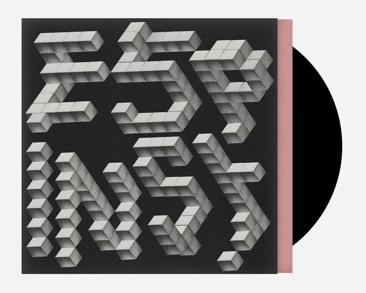 Promo sleeve designed by Mario Hugo for ESP Institute