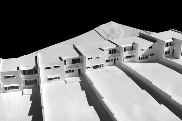Housing at Sunila Pulp Mill by Alvar Aalto
