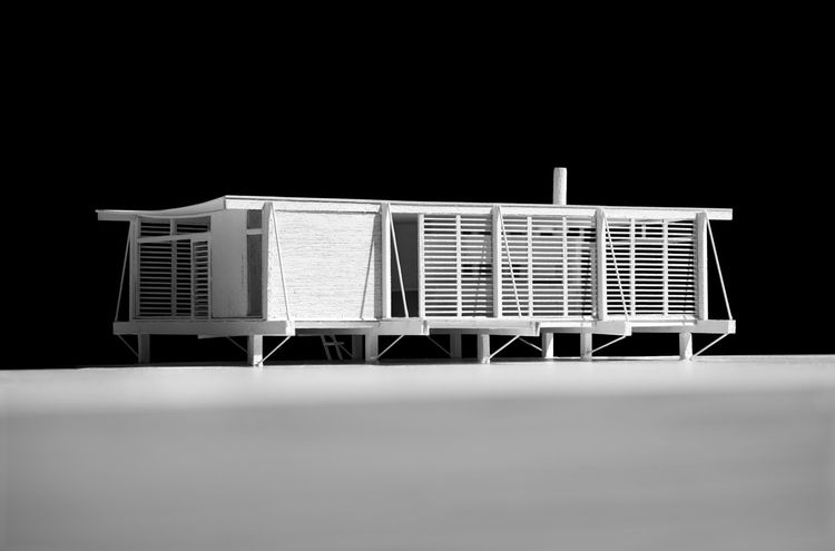 Cocoon House by Paul Rudolph with Ralph Twitchell